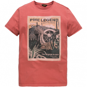 PME LEGEND Short sleeve r-neck single jersey t-shirt
