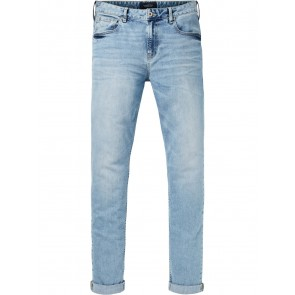 SCOTCH & SODA Skim-Blauw Wonder